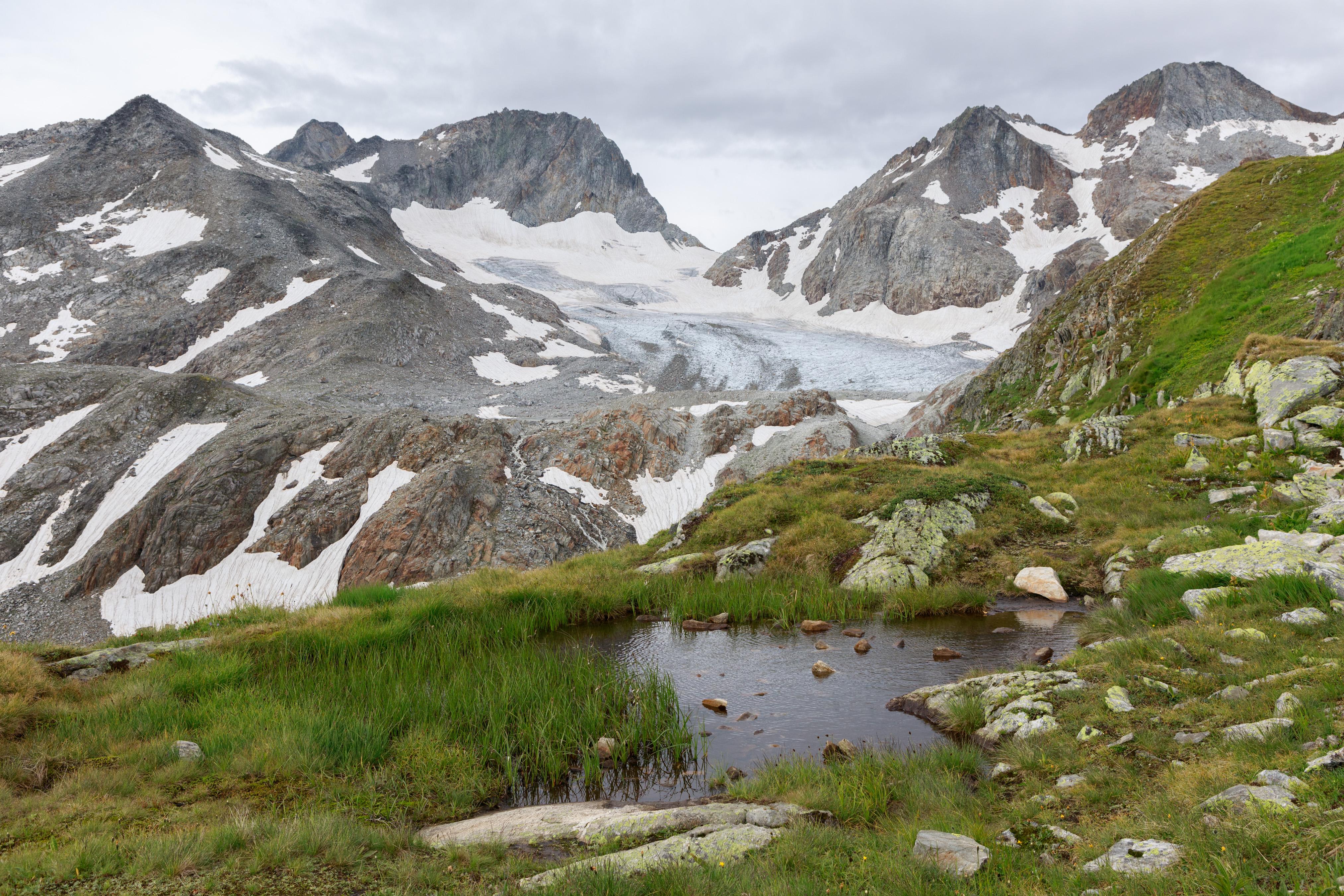 Witenwasseren glacier